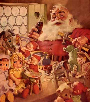 Promis, pas d'énième polémique et légende urbaine sur : Le rouge du Père Noël et Coca-Cola ;)