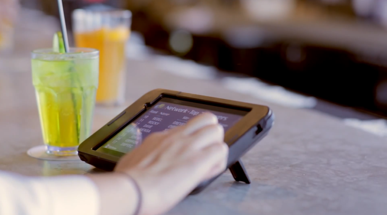 tablette buzztime restaurant 4