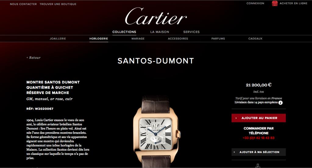 Et le cas du Luxe avec Cartier.