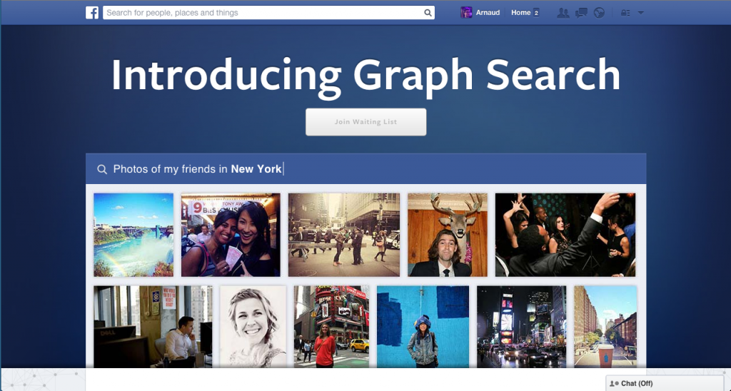 Facebook Graph Search renseignement