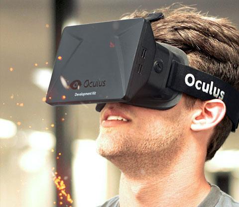 Oculus Rift casque