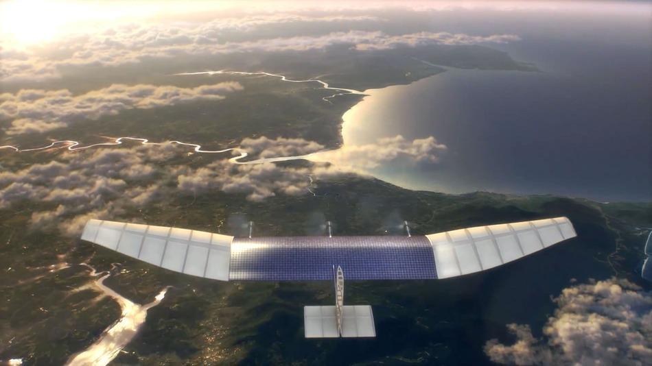 Le drone solaire: dernier né du Connectivité Lab Facebook