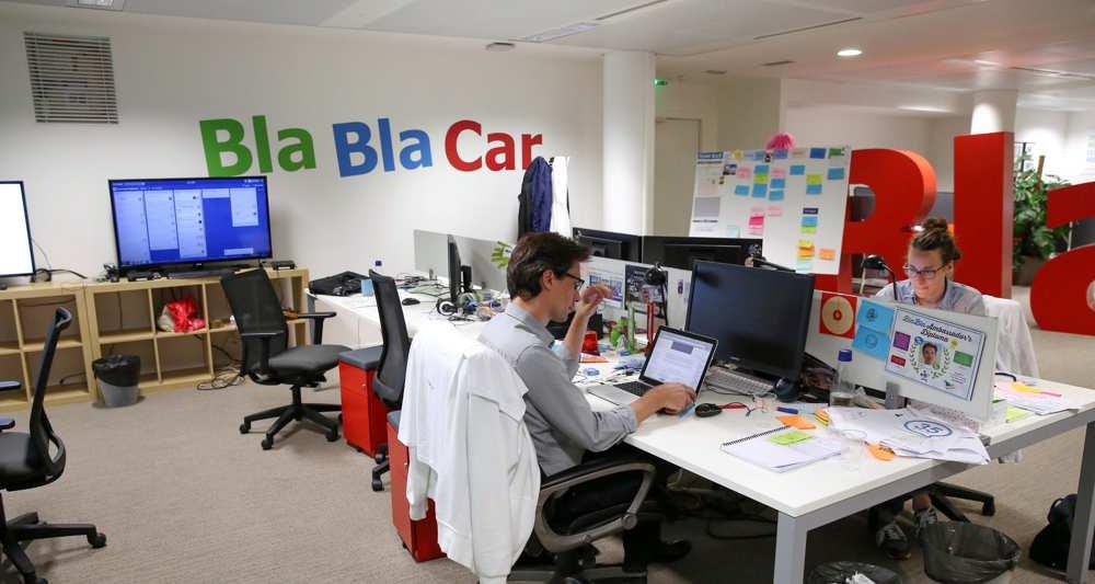BlaBlaCar, le champion français a récemment levé 100 millions d'euros pour conquérir le marché américain.