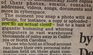 Daily Mail iCloud