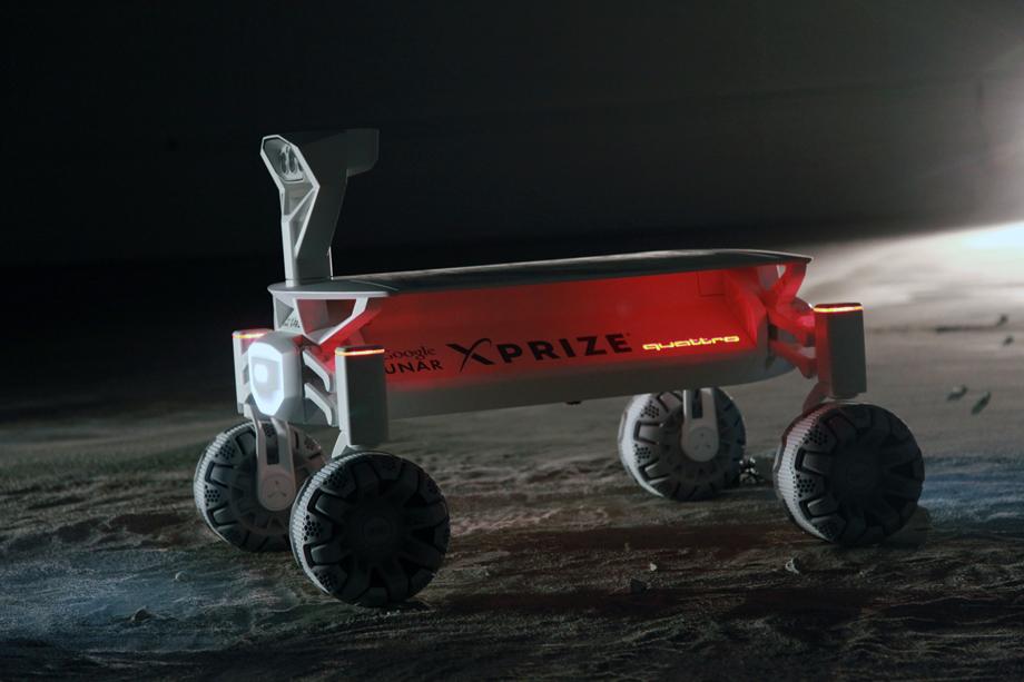 Audi Lunar Quattro technologie