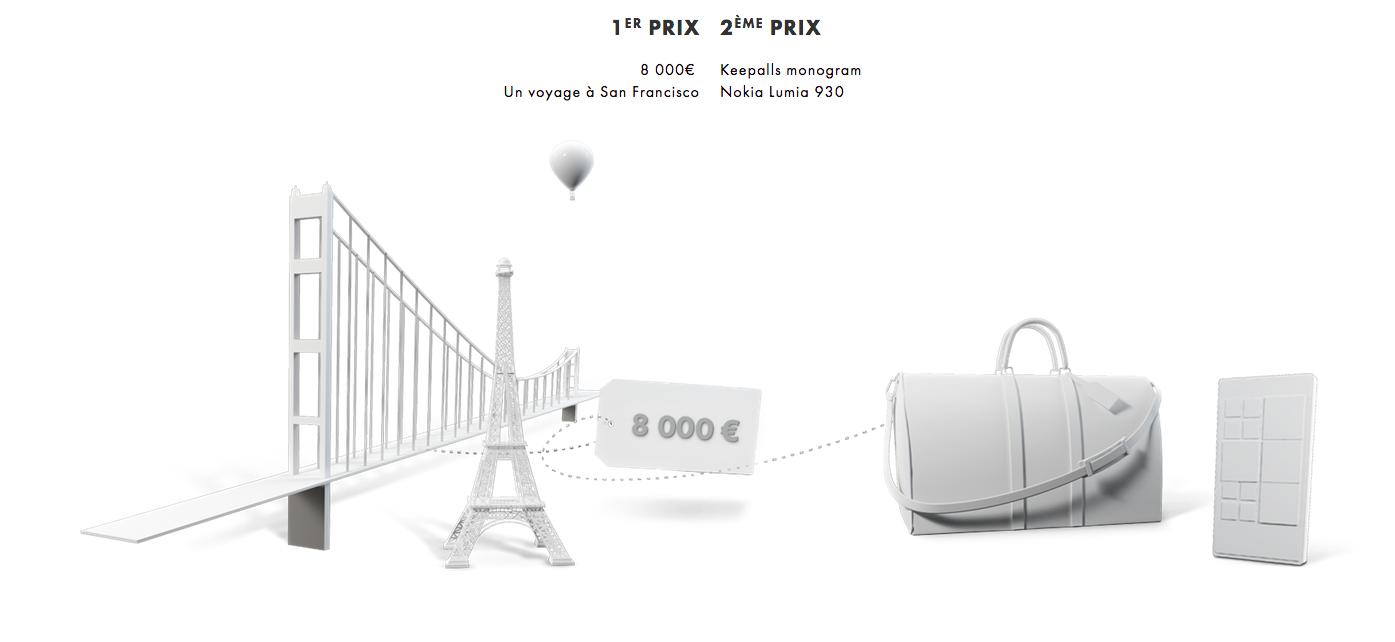 Dotation concours Louis Vuitton