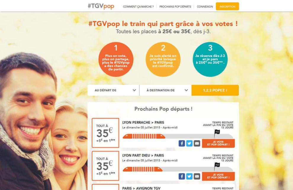 économie collaborative TGVPOP
