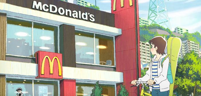 Anime de McDonald's au Japon