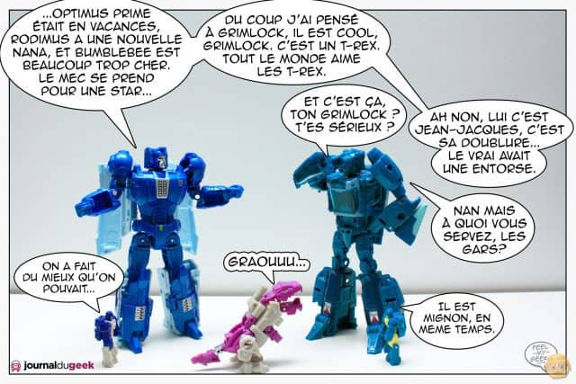 Le webcomic Transformers par le Journal du Geek - Content Marketing - vignette 3