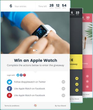 réseaux sociaux : mécanique d'engagement avec le jeu-concours