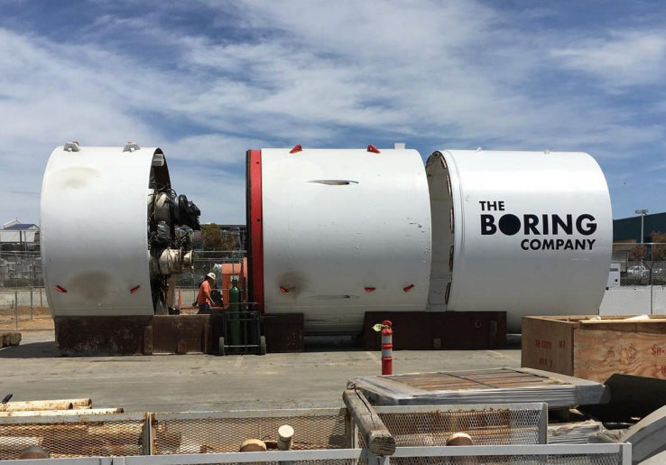 Tunnel anti-embouteillages par Elon Musk