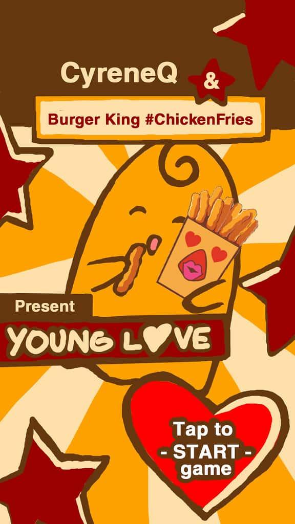 Pub Burger King Snapchat de CyreneQ