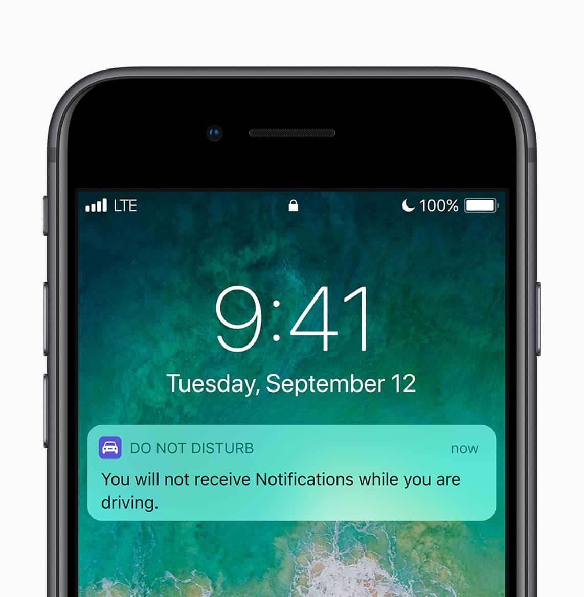 iOS 11 Conduite