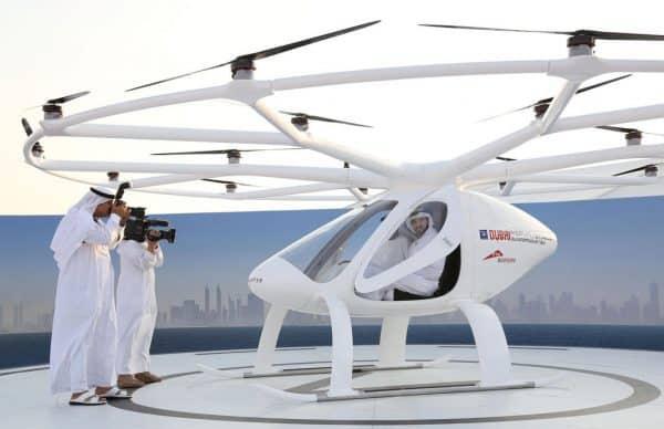 Volocopter à Dubai
