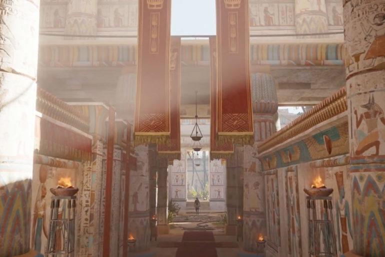 Ubisoft Google hieroglyphes