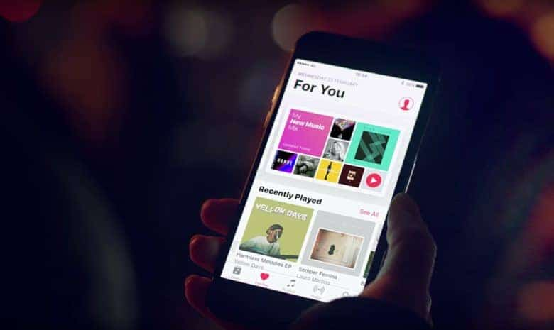service Apple Music