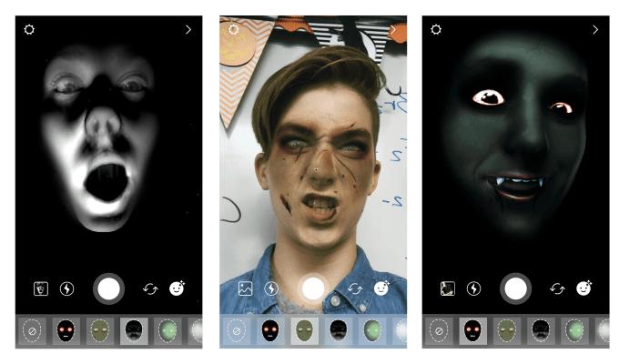 Instagram filtre et Superzoom