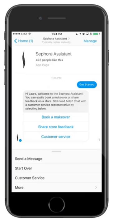 Messenger bot : étude de cas