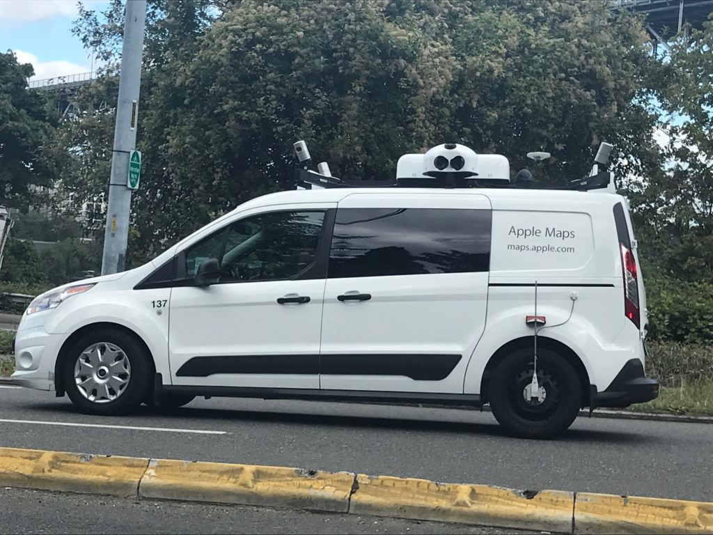 voiture apple maps street view