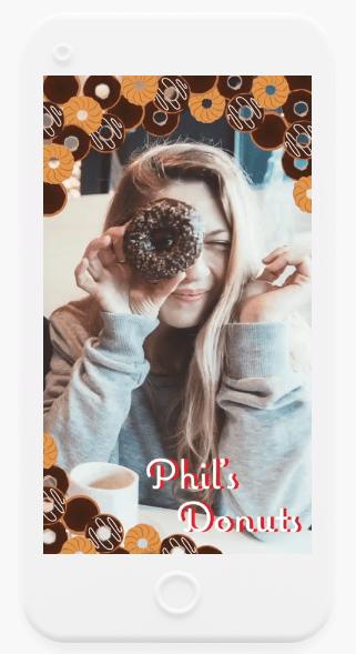 snapchat : publicité avec les filtres
