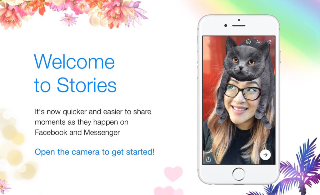 Facebook Stories Messenger