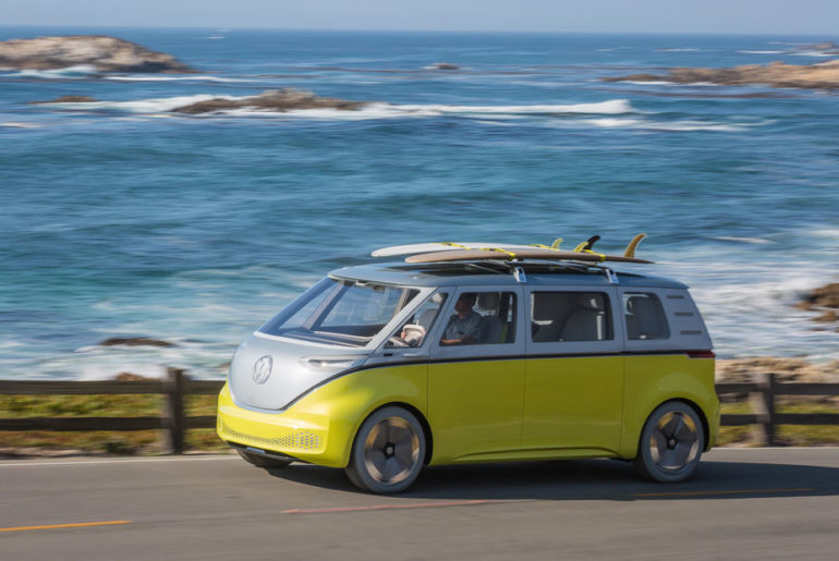 Nvidia Volkswagen ID Buzz