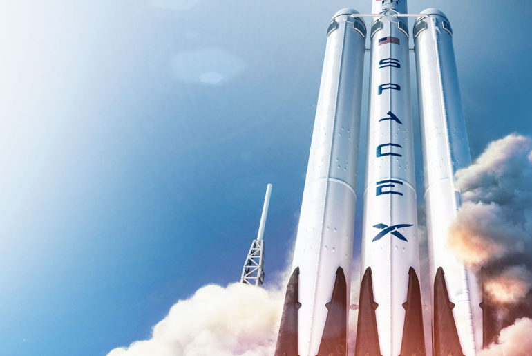 Navette SpaceX Falcon Heavy