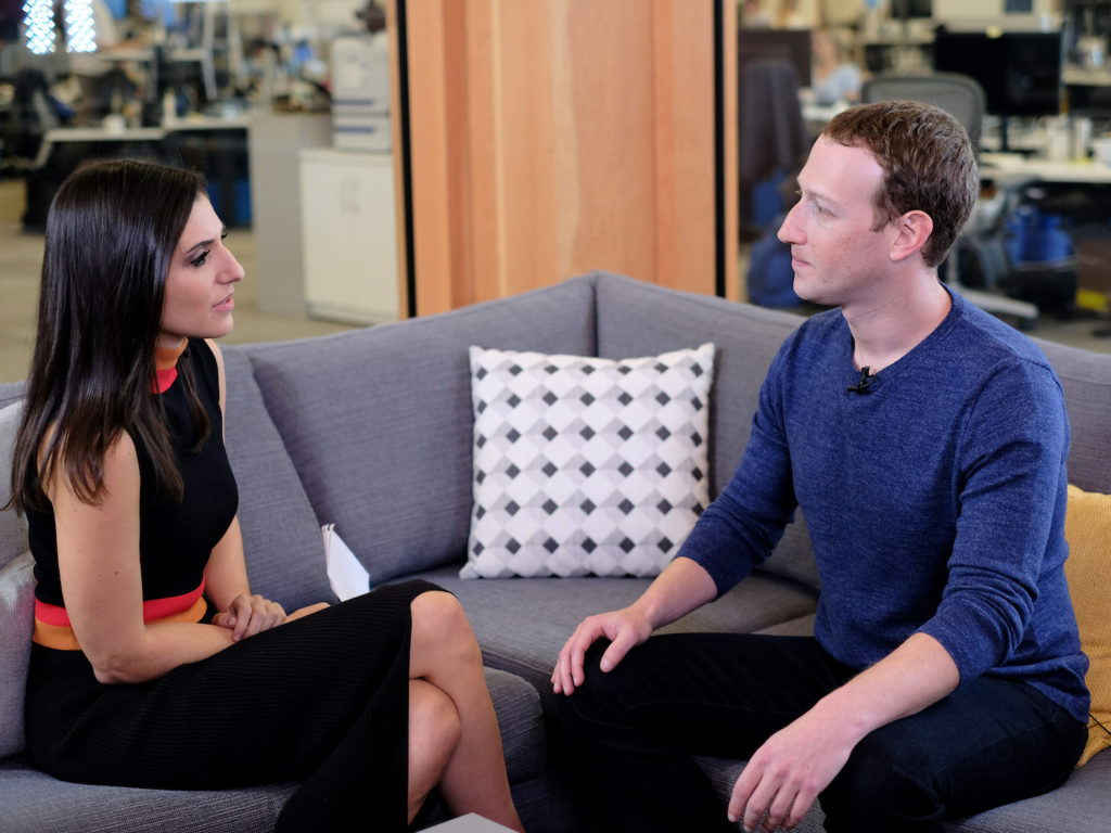 Mark Zuckerberg CNN cambridge analytica