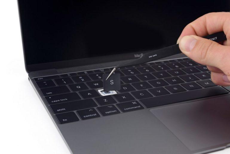 Apple brevet clavier