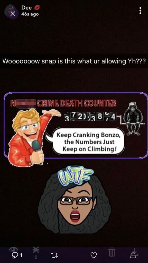 Instagram et Snapchat désactive les GIF suite à l'utilisation d'un GIF raciste.