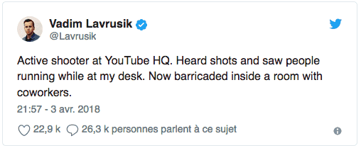YouTube Shooting Tweet 4
