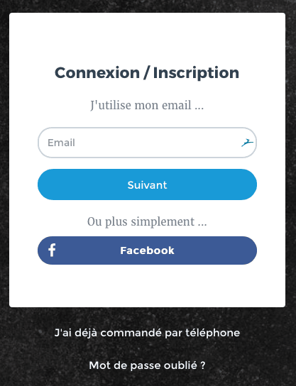 facebook collecte données personnelles login