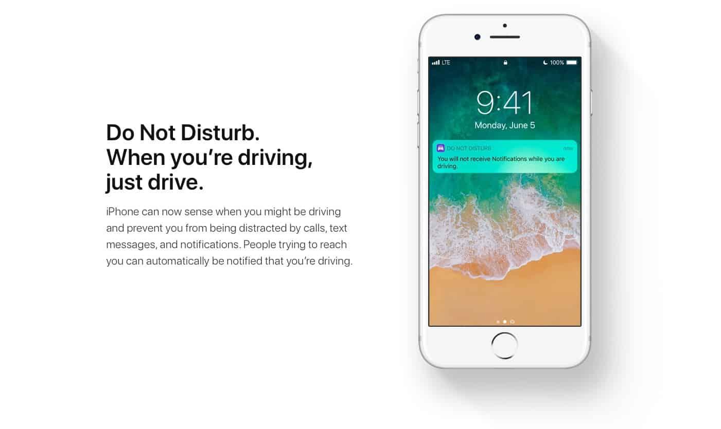 La fonctionnalité d'Apple pour limiter la distraction au volant semble fonctionner