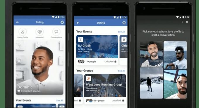 Facebook se lance sur le marché du dating
