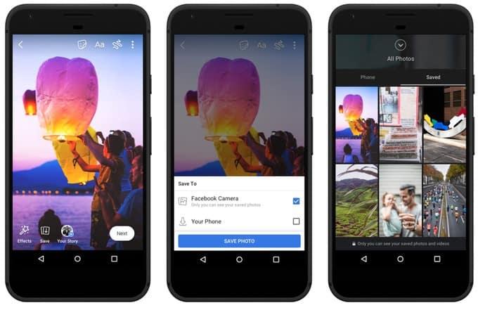 Facebook Stories : il va être possible de les sauvegarder, les archiver et d'envoyer des messages vocaux
