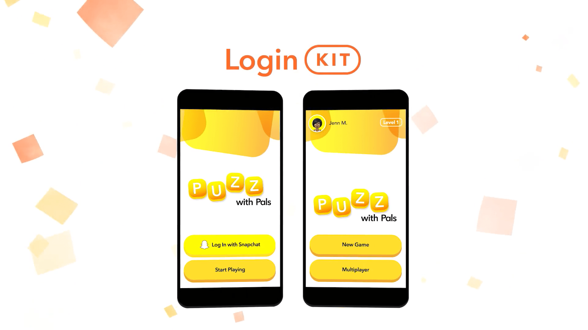 Login Kit Snap Kit