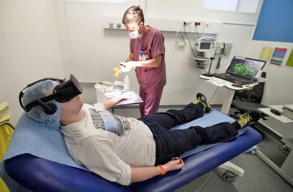 Réalité Virtuelle en salle d'urgence