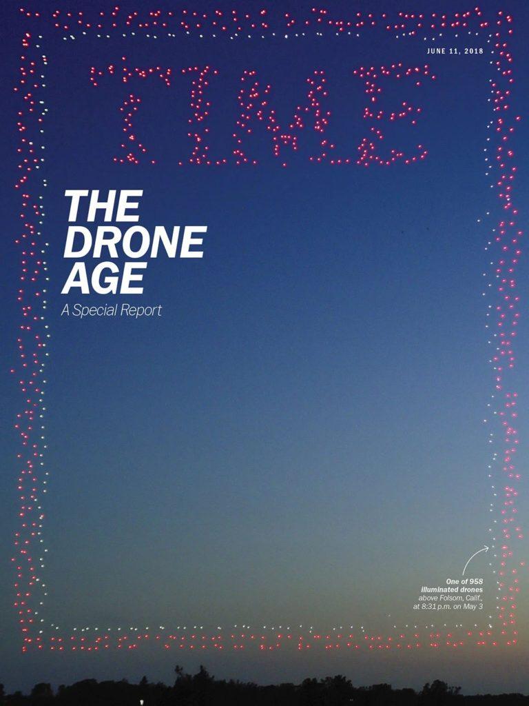 couverture time magazine drones