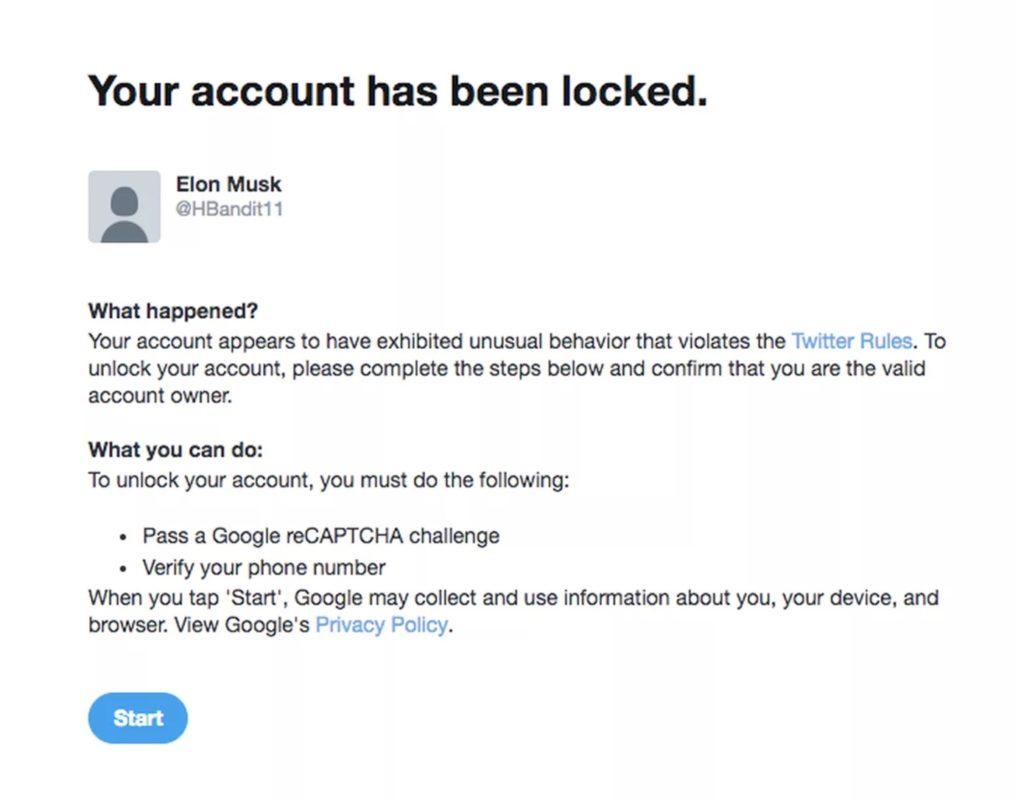 Pour éviter les arnaques de cryptomonnaies, Twitter bloquera les utilisateurs dont le nom est Elon Musk