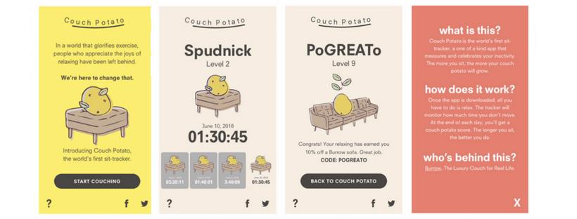 application qui track votre inactivité