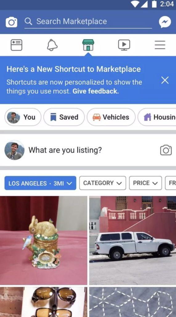 Facebook : la barre de navigation de l'application sera personnalisée en fonction de vos habitudes