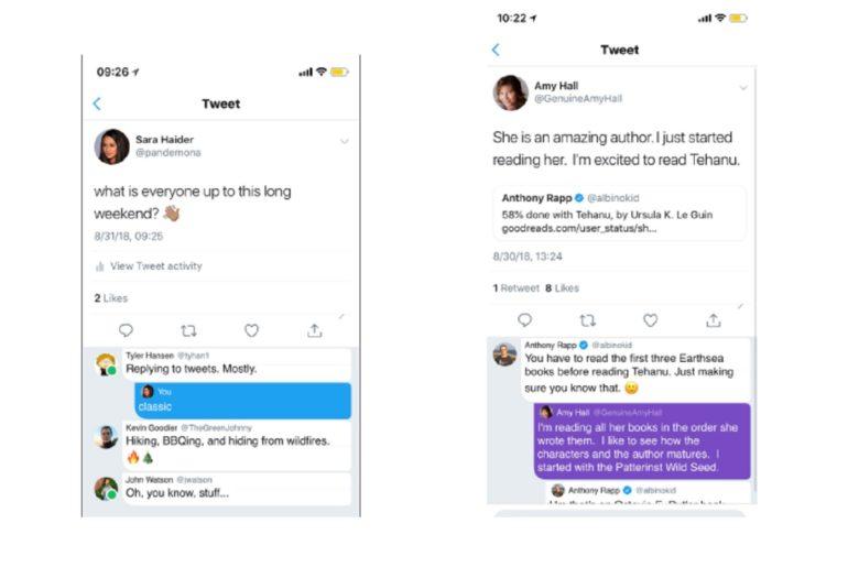 Twitter fonctionnalités engagement