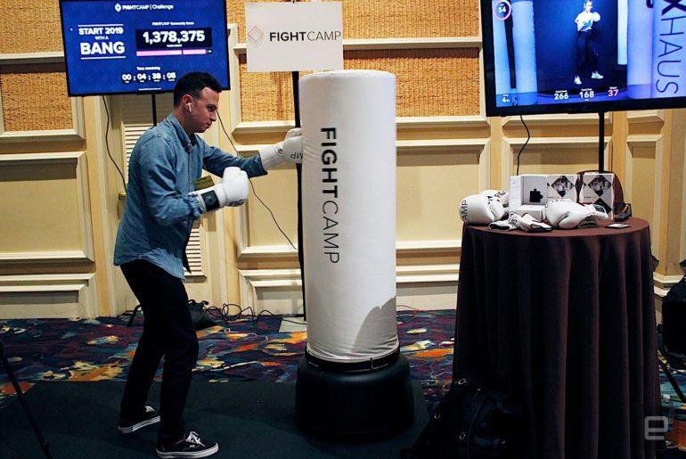 FightCamp, un dispositif pour s'entrainer à domicile à pratiquer la boxe et le fitness grâce aux nouvelles technologies