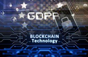 blockchain rgpd