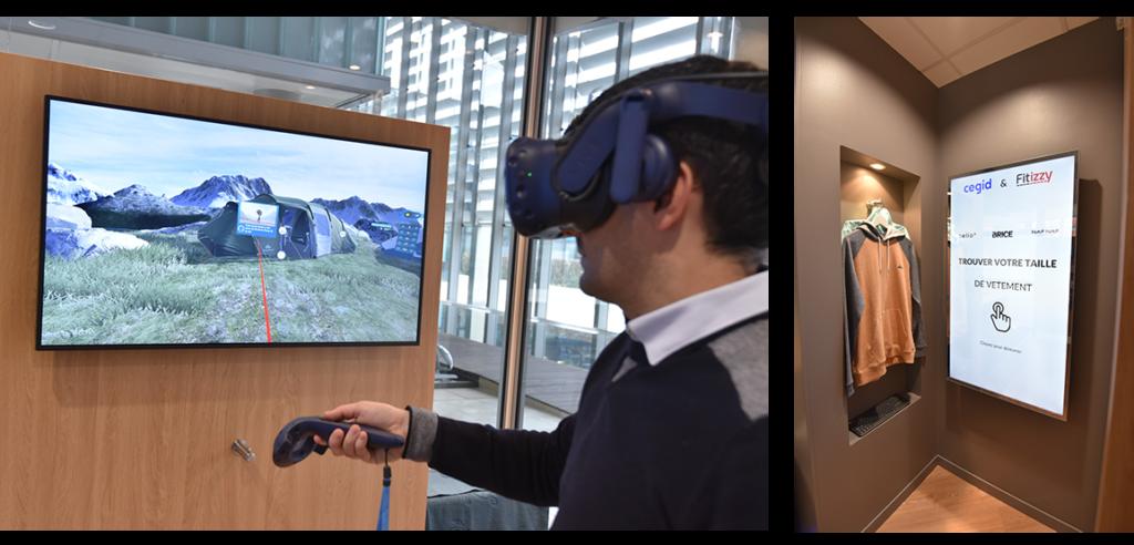 Solution VR & la cabine connectée