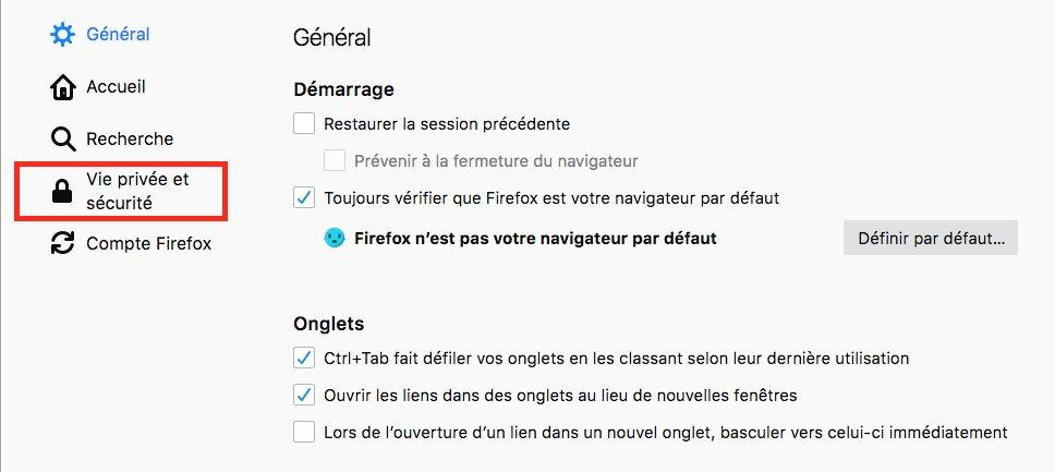 Comment désactiver les notifications sur Firefox image 3