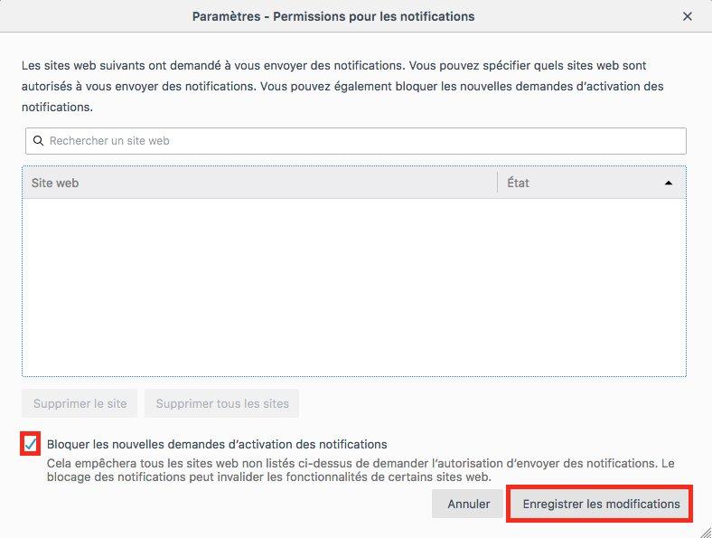 Comment désactiver les notifications sur Firefox image 8