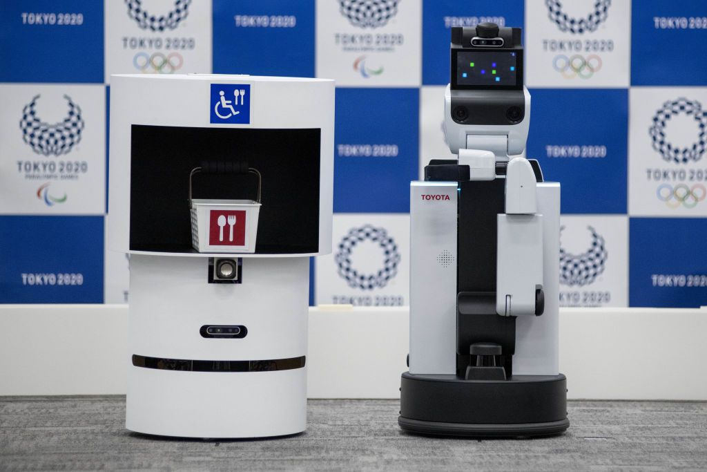 robot assistant japon