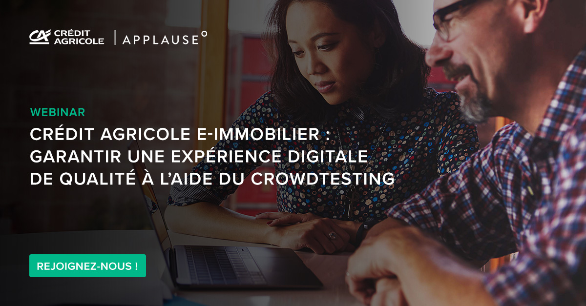 webinaire crowdtesting crédit agricole applause