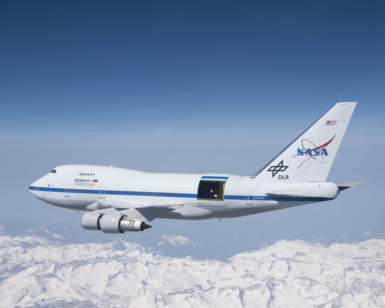 SOFIA, l'observatoire de la NASA